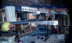 """Marrickville Development Corporation"" 2014, Collaborative Public Performance and Live Mixed Media Assemblage, Fringe Festival."