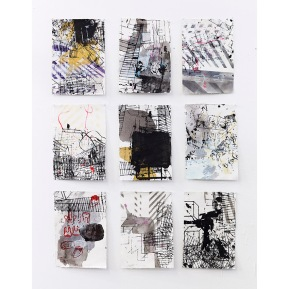 """Edge City Sketches 1-9"""